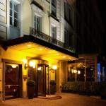 Illuminazione esterna - Hotel Baglioni (MI)