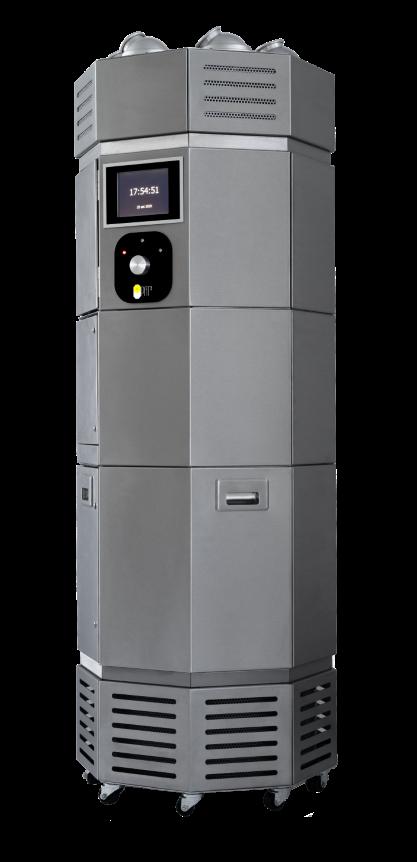 sanificatore aria superfici tecnologia italiana