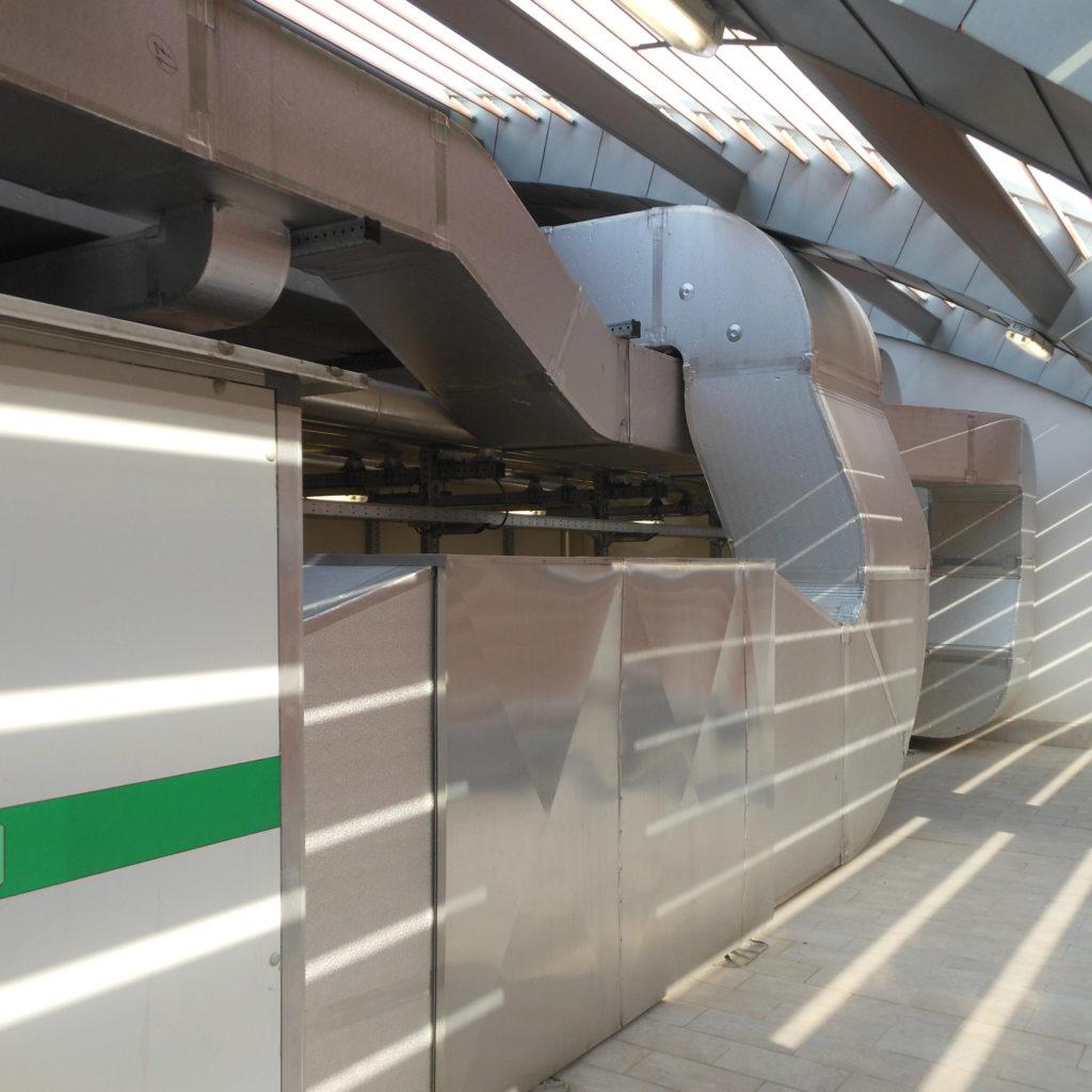 impianti di condizionamento industriali ferrovia