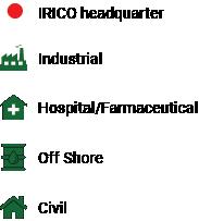 settori installazioni IRICO impianti